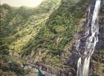 Waterfalls, Wulai.54x40cm
